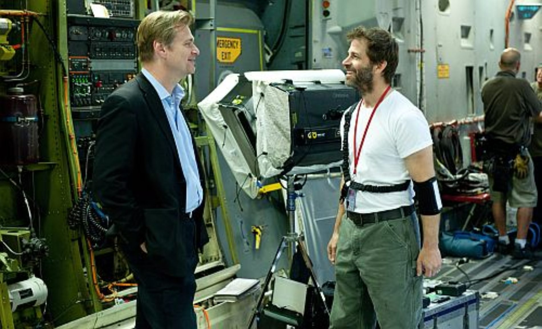 Christopher Nolan la bendición de Zack Snyder para 'Batman v Superman'
