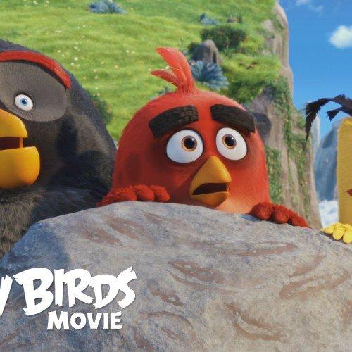 Segundo tráiler de 'Angry Birds, la película'. Sé feliz, Sonríe