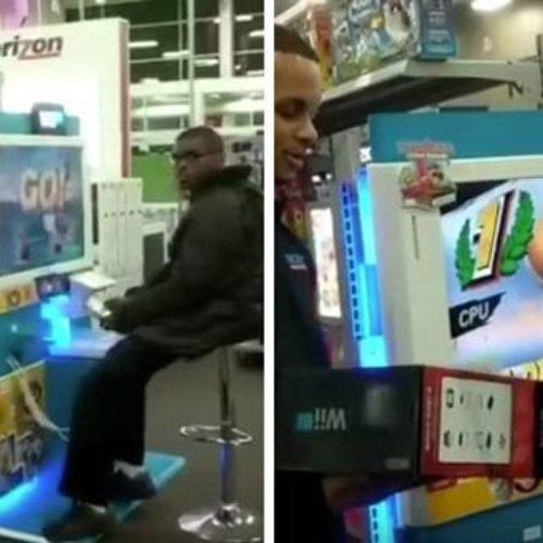 Le regalan un Wii U a un adolescente que iba todos los días a jugar