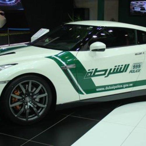 Increíble demostración futurista de la policía en Dubái