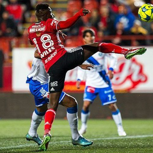 Club Tijuana 6-2 Puebla FC (marcador final)