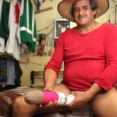 Roberto Esquivel, el hombre con el pene más grande del mundo