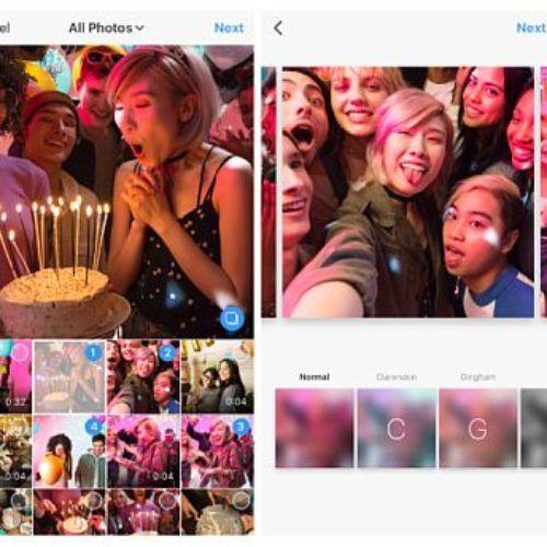 Ahora ya puedes publicar galerías de fotos en Instagram