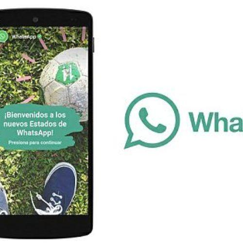"""Sabes cómo funciona la nueva opción """"estados"""" de whatsapp"""