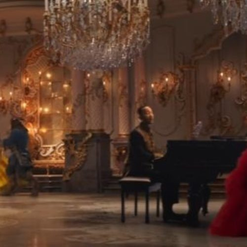 "Estrenan Ariana Grande y John Legend video de ""Beauty and the Beast"""