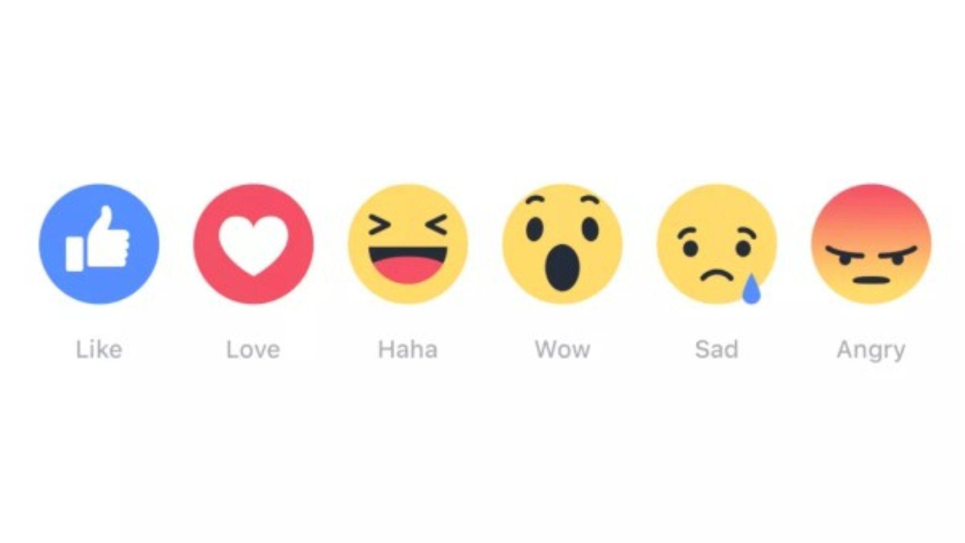 Ya esta probando Facebook las reacciones en Messenger