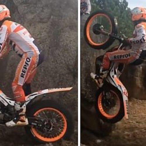 No se le resiste nada a Toni Bou con su moto de trial