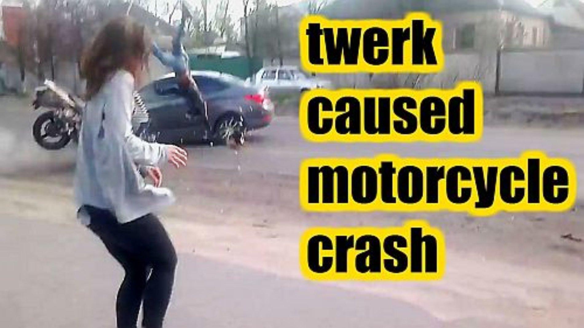 Provoca terrible accidente por bailar 'twerking' en la carretera