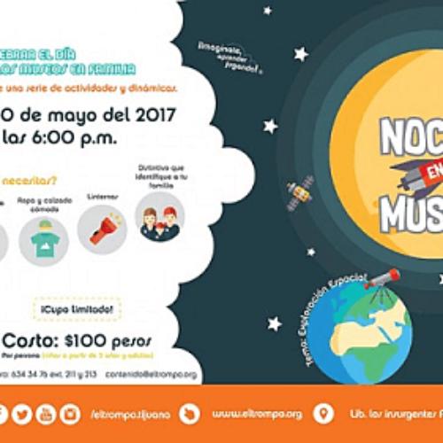"""Invita el trompo a familias a """"noche en el museo"""""""