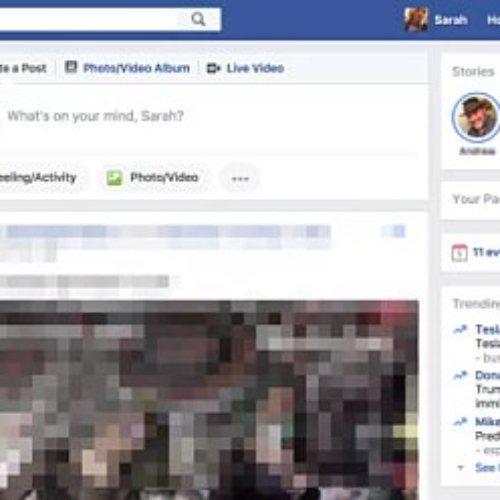 Inicia Facebook sus pruebas de Stories en la web