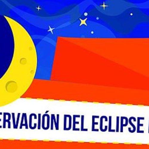 Más cerca el lunes de eclipse en el trompo