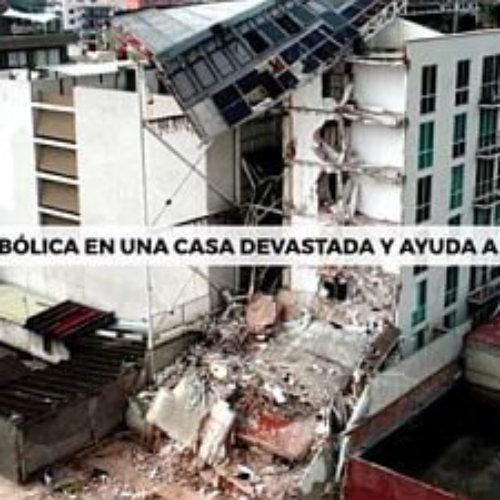 """Propone """"Arriba México"""" hospedarse virtualmente en casas devastadas por los sismos en México"""