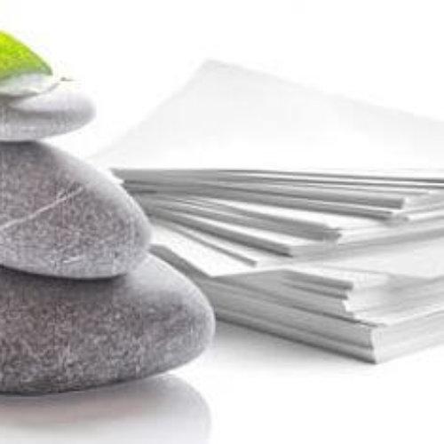 ¿Conoces el papel mineral que se hace sin agua y sin árboles?