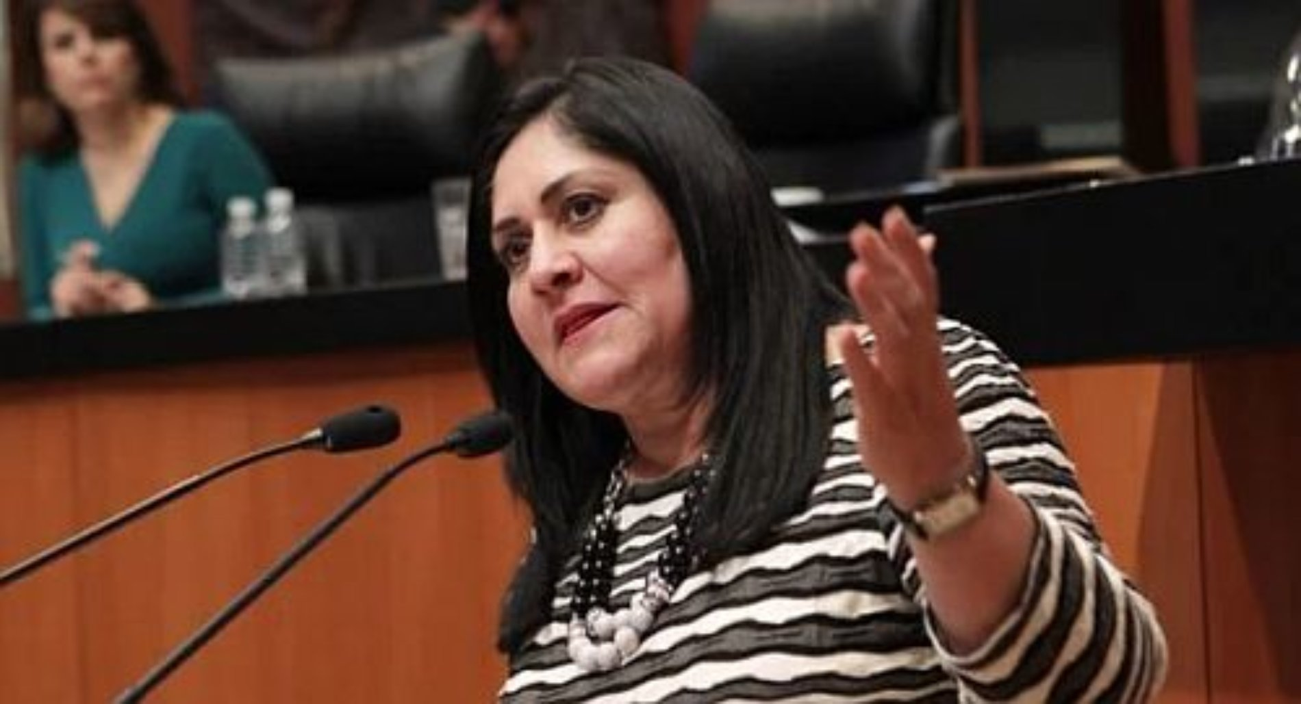Pide senadora del PRI que partidos, no donen a damnificados