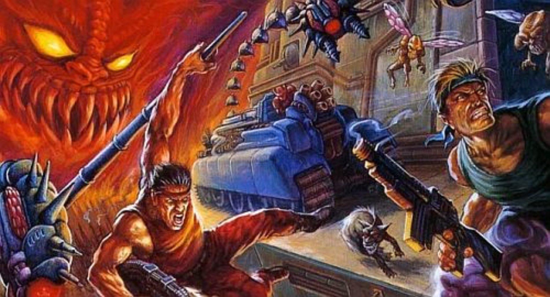 El clásico de Konami 'Contra' será adaptado a película y serie televisiva live-action