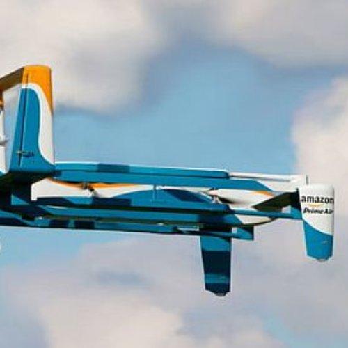 Amazon tendra un Drones para cargar vehículos eléctricos