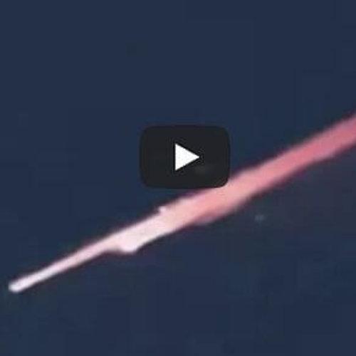 ¿Ovni o meteorito? Cohete ruso en el cielo provoca el desconcierto en Dubái
