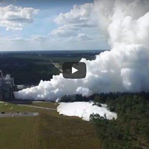 NASA prueba el motor que llevará al hombre a Marte