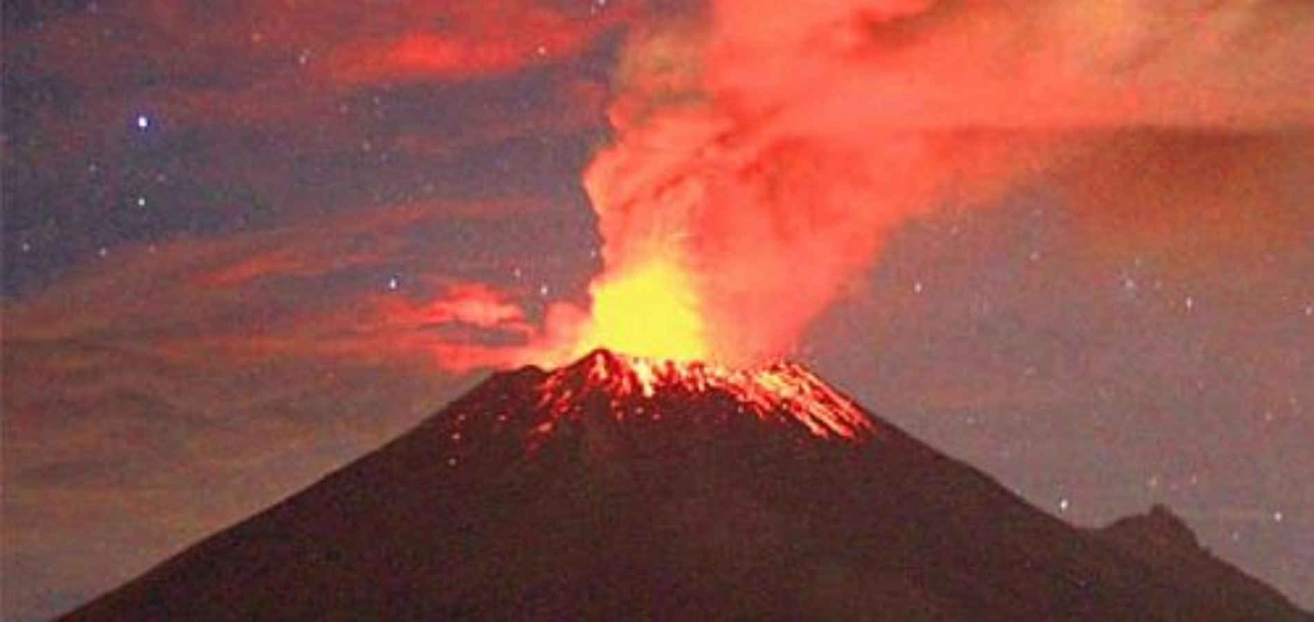 Se registra explosión en Popocatépetl; y aun se mantiene alerta amarilla