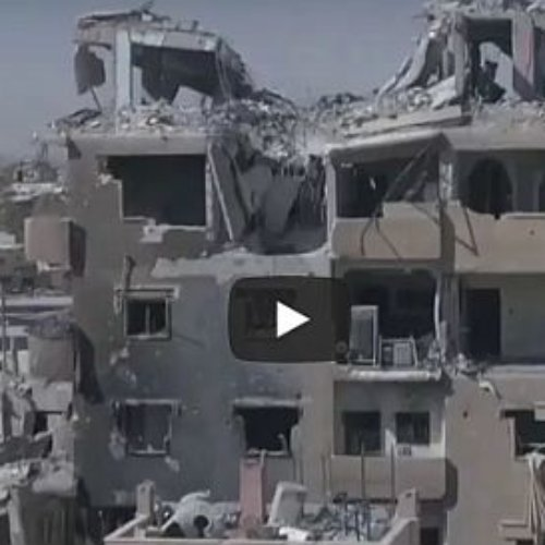 Dron nos muestra Raqa una ciudad siria devastada por la guerra