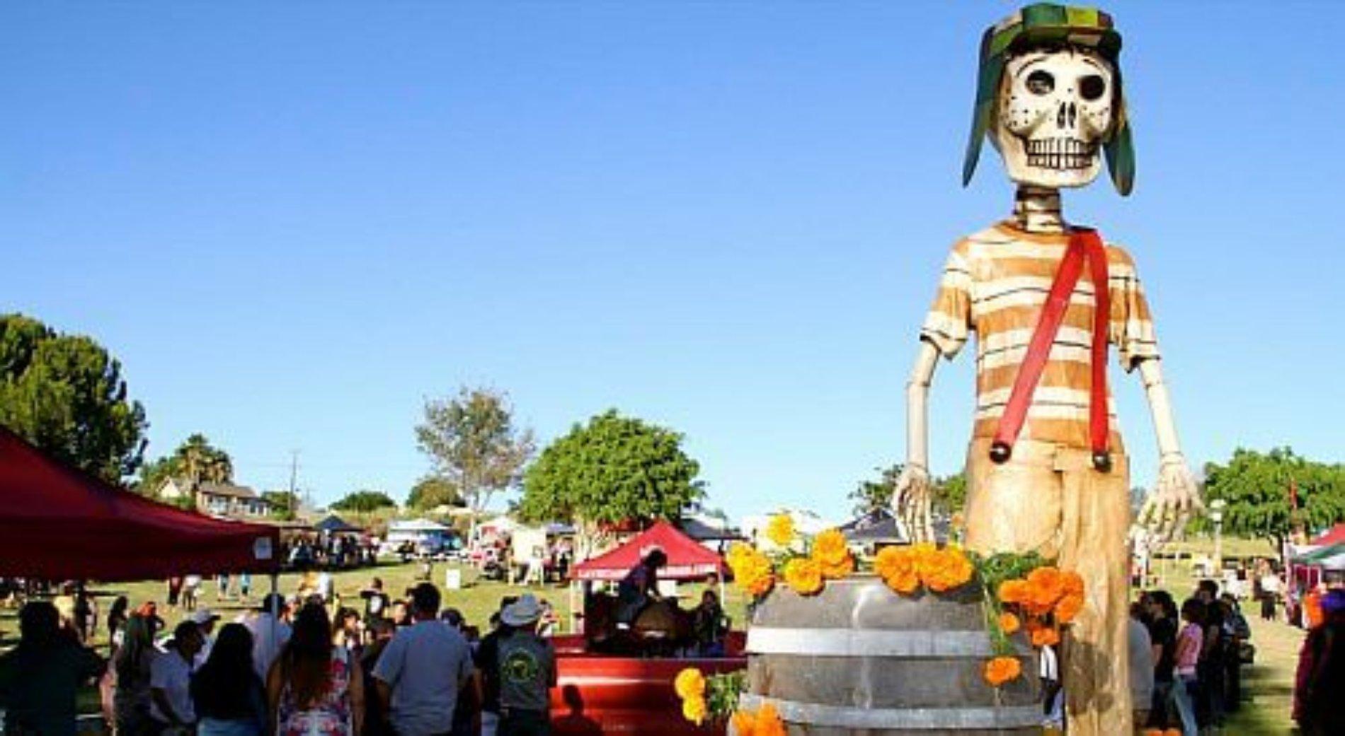 Promueven tradición Mexicana de Día de Muertos con magno evento en National City California