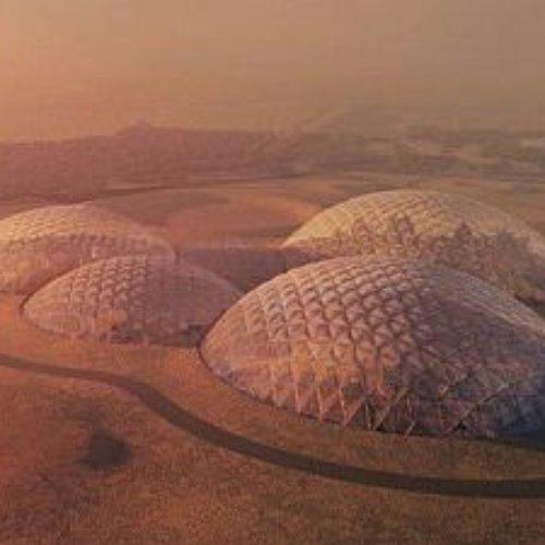 Ahora Dubai está construyendo una ciudad marciana en mitad del desierto