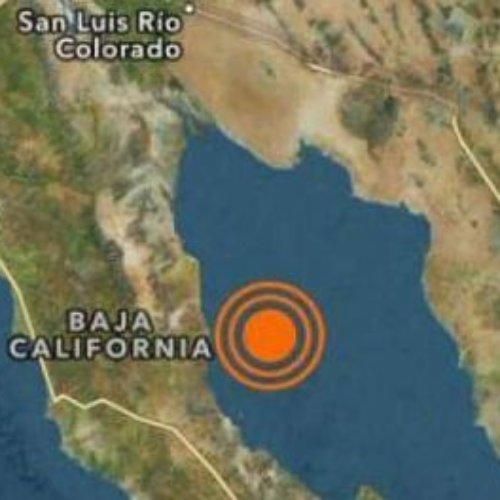 Se registro sismo de 4.2 en San Felipe