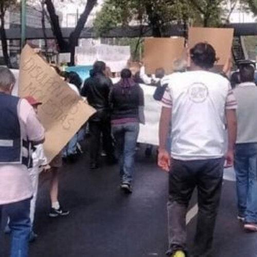 Marchan damnificados del 19S en la CDMX para exigir recursos para reconstrucción