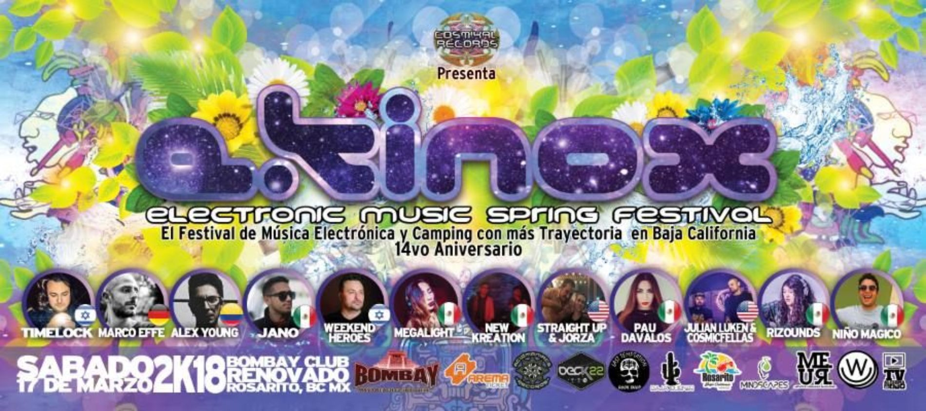 Ekinox Electronic Music Spring Festival 2018