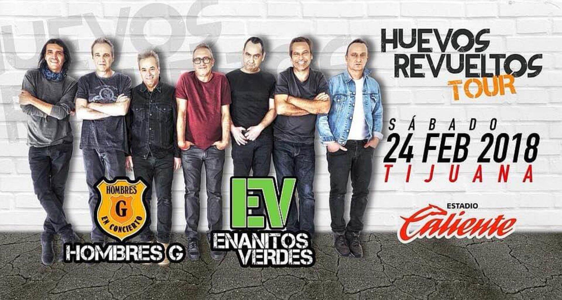 Huevos Revueltos Tour Tijuana 2018
