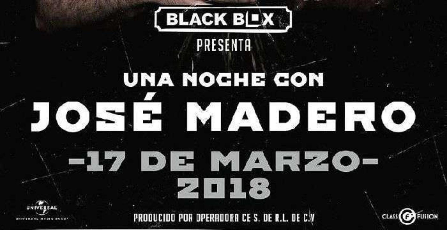 Una Noche con Jose Madero Tijuana 2018