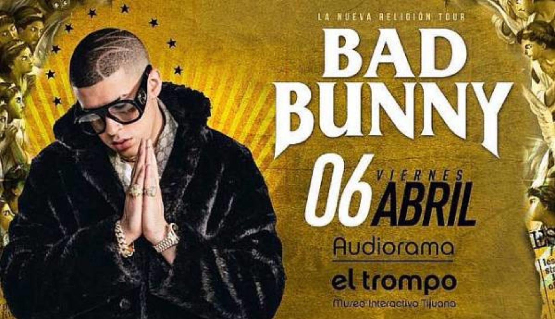 Bad Bunny en Tijuana 2018