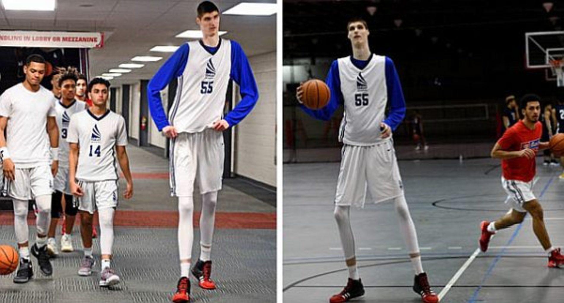 Se llama Robert Bobroczky, y con solo 17 años mide 2,31 metros