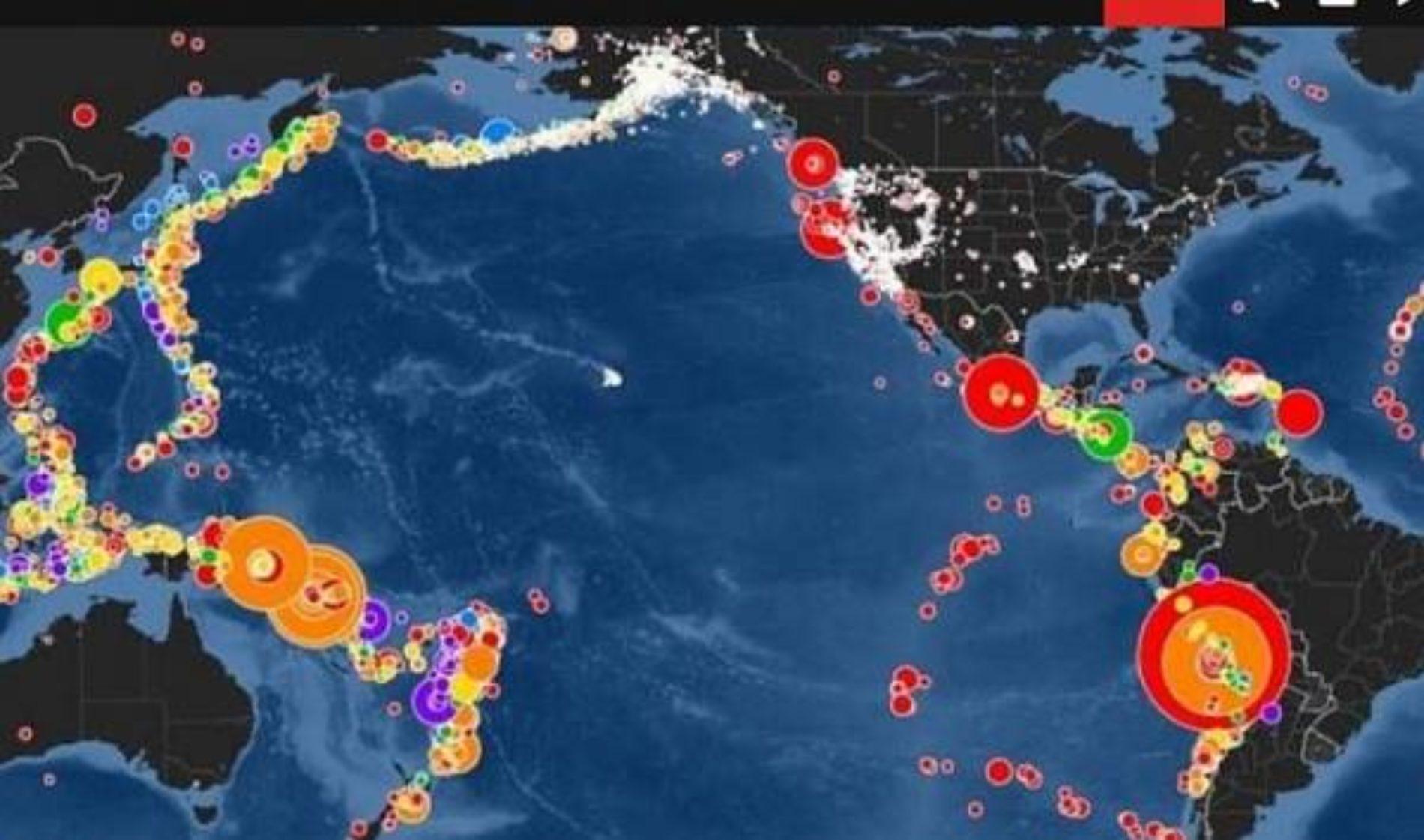Expertos recomiendan estar pendientes del Anillo de Fuego del Pacífico que anuncia terremotos