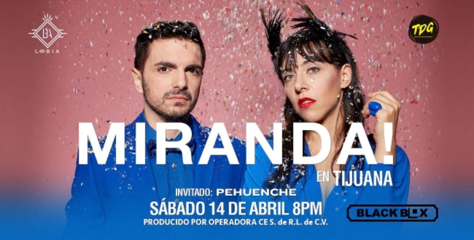 Miranda en Tijuana 2018