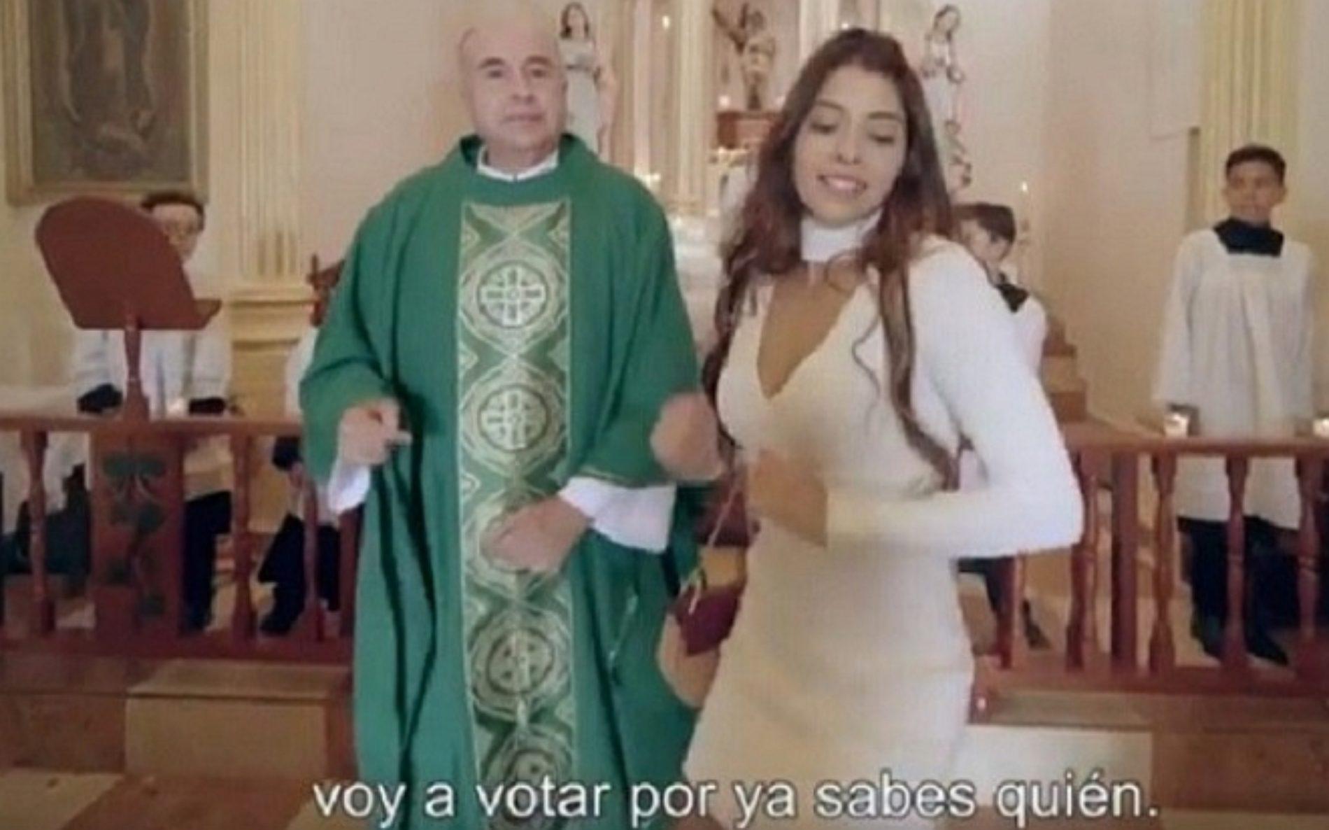 """Se viraliza sexy Reggaeton de la """"Niña Bien"""" invitando a votar por AMLO, ver video"""