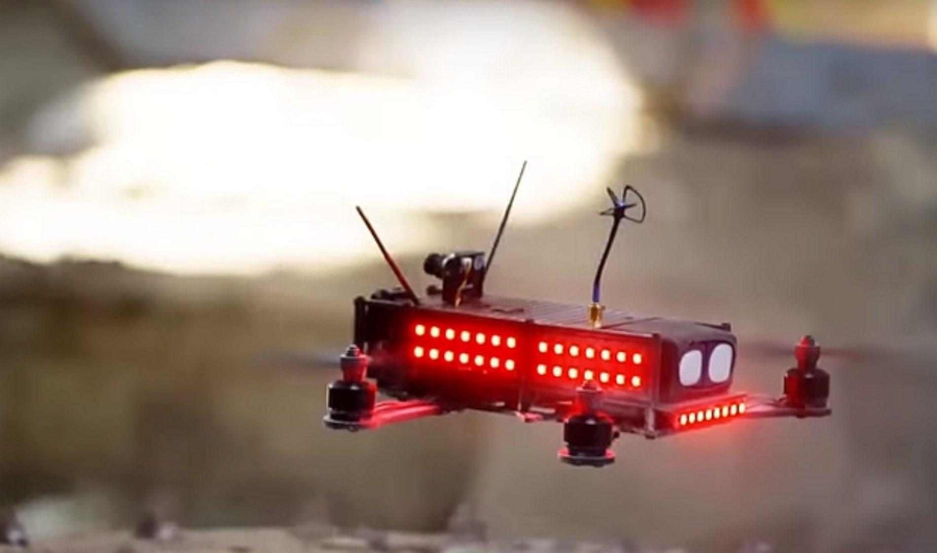 Arranca la liga mundial del deporte del futuro: carreras de drones