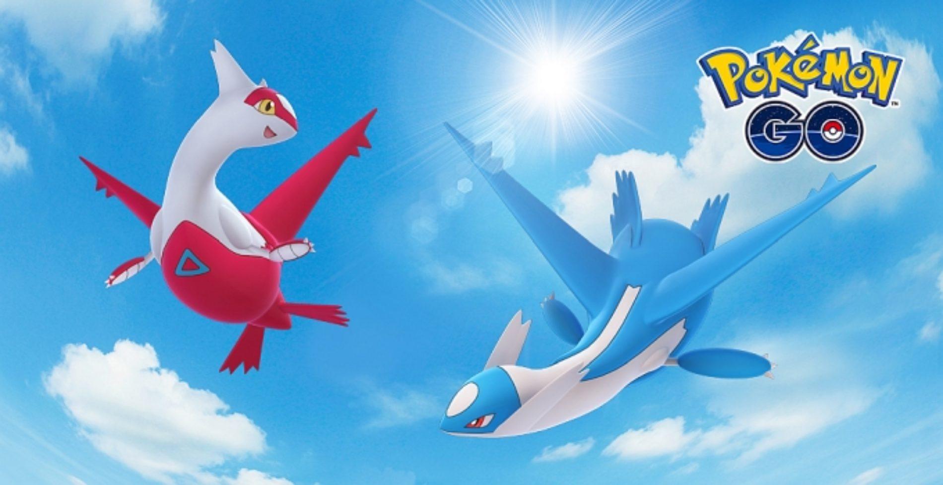 Latios y Latias comienzan a aparecer en Pokémon Go