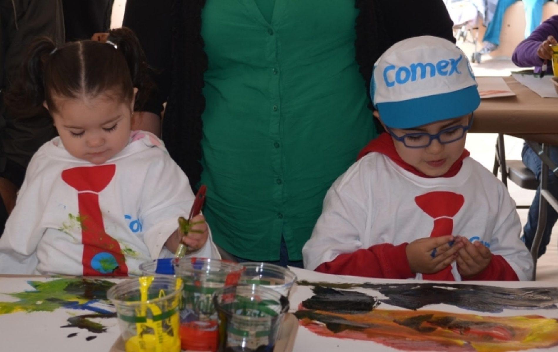 Festival Ven a Pintar con nosotros y despierta la creatividad infantil en el CECUT
