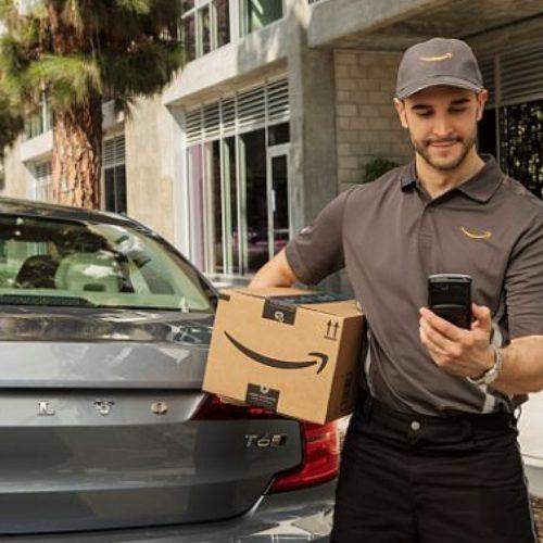 Ahora Amazon puede dejarte los paquetes dentro del coche