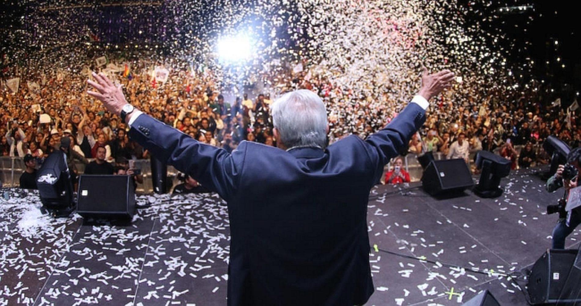 El INE acaba de confirmar el triunfo de AMLO