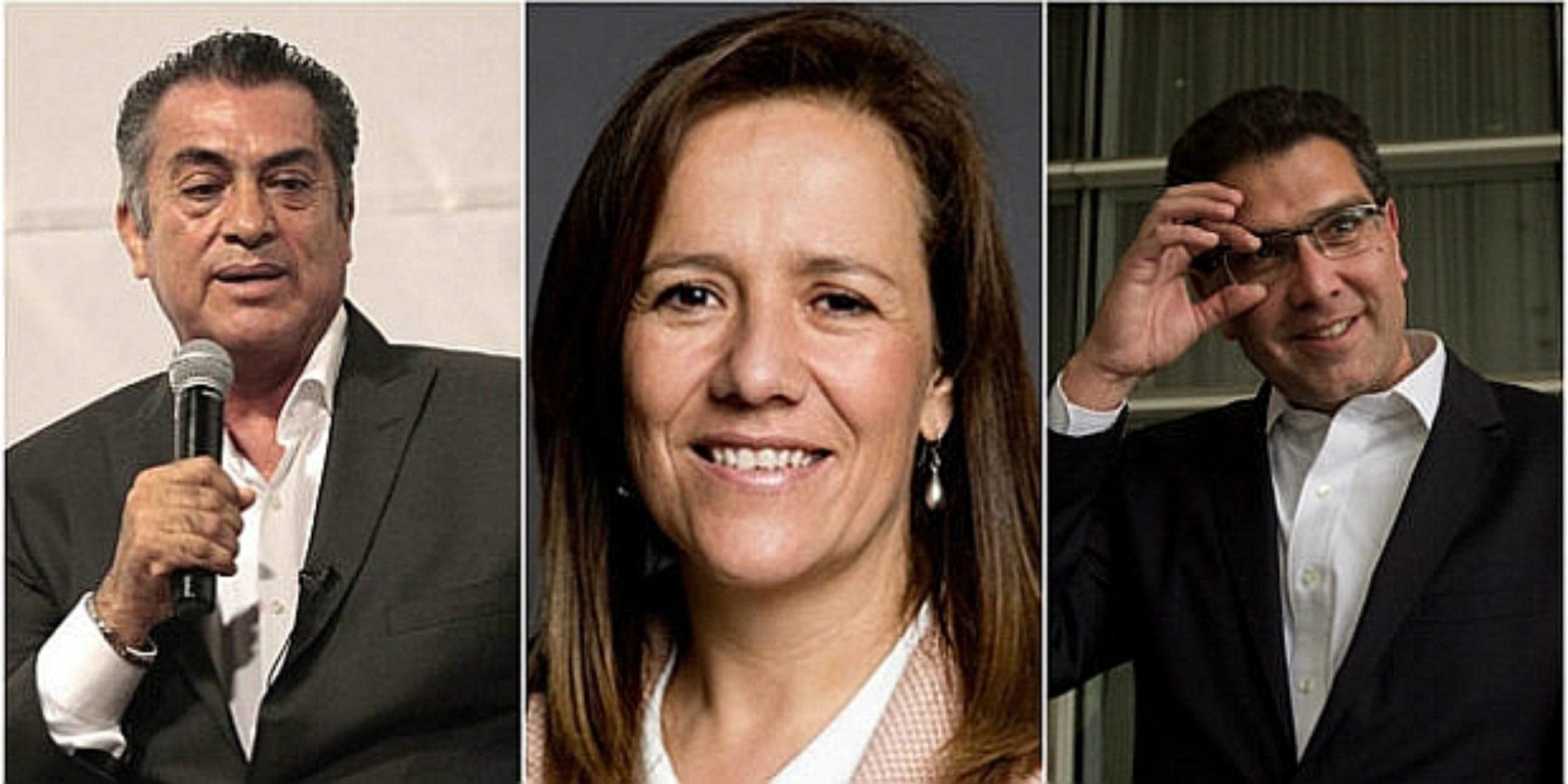 Margarita Zavala, el Bronco y Ríos Piter lo único que ganaron fue una multa por falsificar firmas