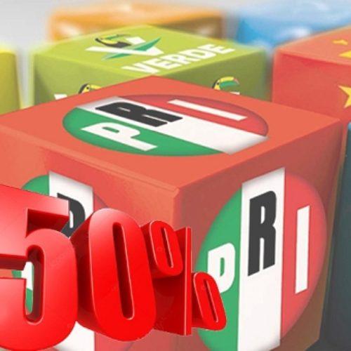 Analiza Morena iniciativa para quitarles el 50% al gasto de partidos políticos