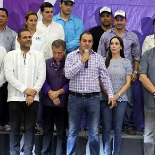 Prepara Cuauhtémoc Blanco su propio partido político, ya no le gusto estar con Morena