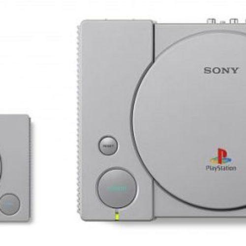 Este diciembre Sony lanzará una PlayStation Classic Mini