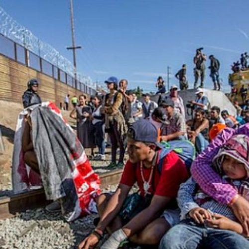 Segob declara que serán deportados los migrantes que hoy intentaron cruzar a EU