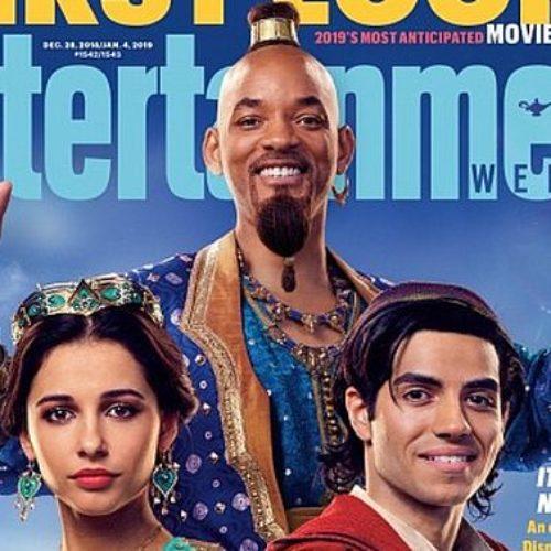 Y con ustedes Will Smith, el Genio de la lámpara en Aladdin
