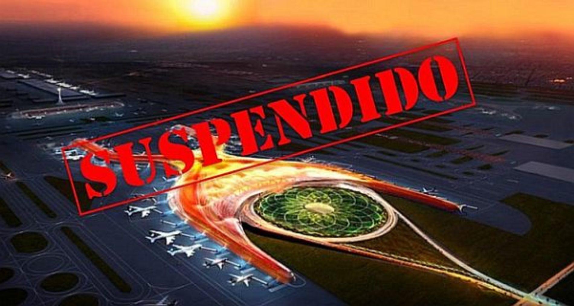 Nuevo gobierno detecta corrupción por 17 mil millones de pesos en el aeropuerto ya suspendido