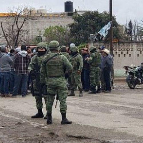 Acusa la CNDH a los soldados por no salvar a los huachicoleros muertos