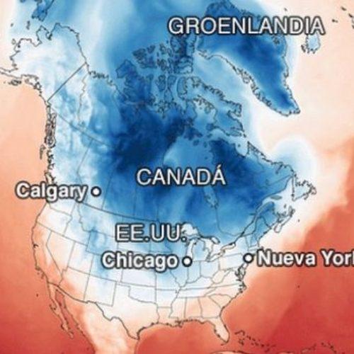 Frio polar en Estados Unidos deja al menos 21 muertos